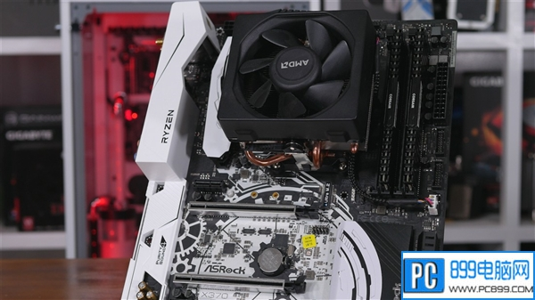 心疼AMD Ryzen!主板和散热器完美变身猪队友