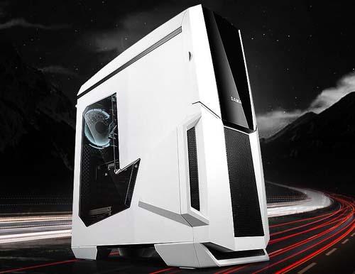 【宁美】6199元I7 7700K/GTX1060组装电脑水冷游戏主机