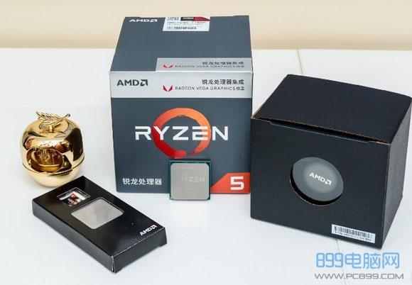 3355元锐龙R5 2400G电脑配置推荐 集显也能玩网游